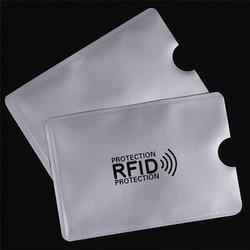 10 шт./компл. RFID экранированный рукав карты блокировка 13,56 МГц микросхемой чипом микропроцессорные карты защита NFC карта безопасности для пре...