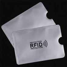 10 unids/set RFID Bloqueo de tarjeta de manga blindada 13,56 mhz protección de tarjeta IC NFC tarjeta de seguridad evitar escaneo no autorizado