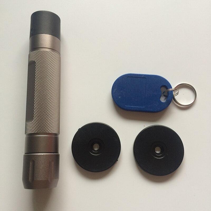 bilder für USB 2.0 High Speed Rfid Wasserdicht Lange Standby Metall Elektronische Wächterkontrollsystem Free10 Checkpoints und 2 stücke Mitarbeiter RFID Tag