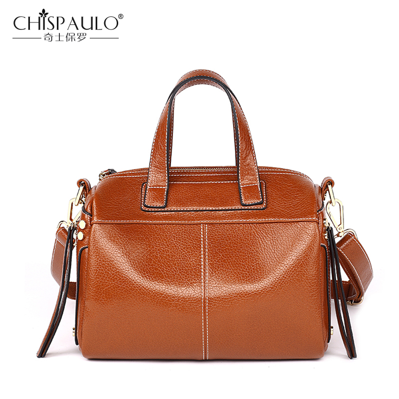 Women Leather Handbags Luxury Female Crossbody Bags Designer Famous Brand Boston Bag For Women High Quality Ladies shoulder Bags burminsa brand winter round saddle genuine leather bags smiley designer handbags high quality shoulder crossbody bags for women