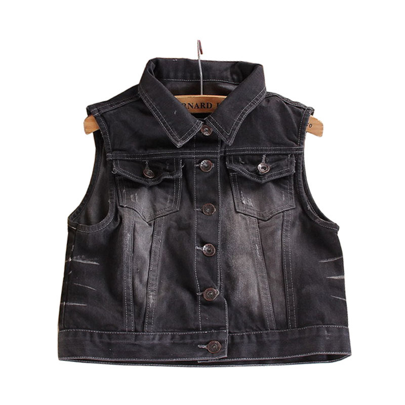 Popular Sleeveless Black Jean Jacket-Buy Cheap Sleeveless Black ...