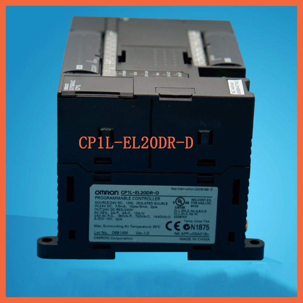 EL20DR New Original CP1L-EL20DR-D PLC CPU DC input 12 point relay output 8 point new and original cp1l em30dr d omron plc controller input 18 point relay output 12 point