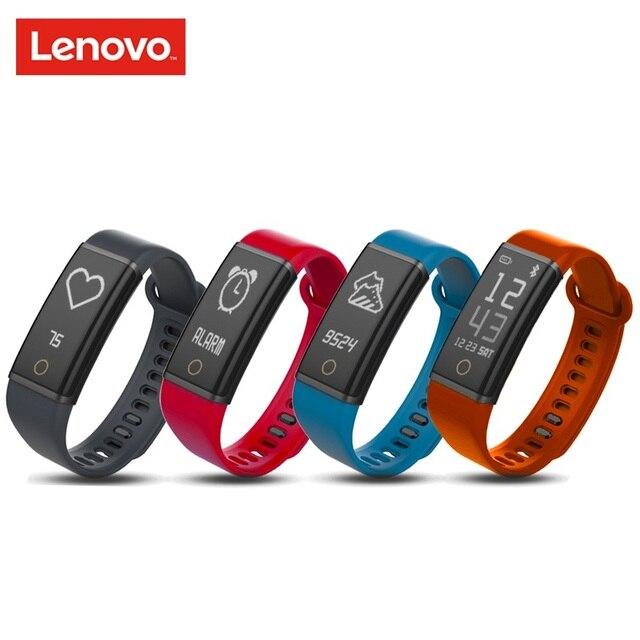 Lenovo אירובי בתוספת HX03W חכם שעון חכם להקת צמיד Bluetooth 4.2 IP68 עמיד למים ספורט צמיד pk כבוד להקת 3