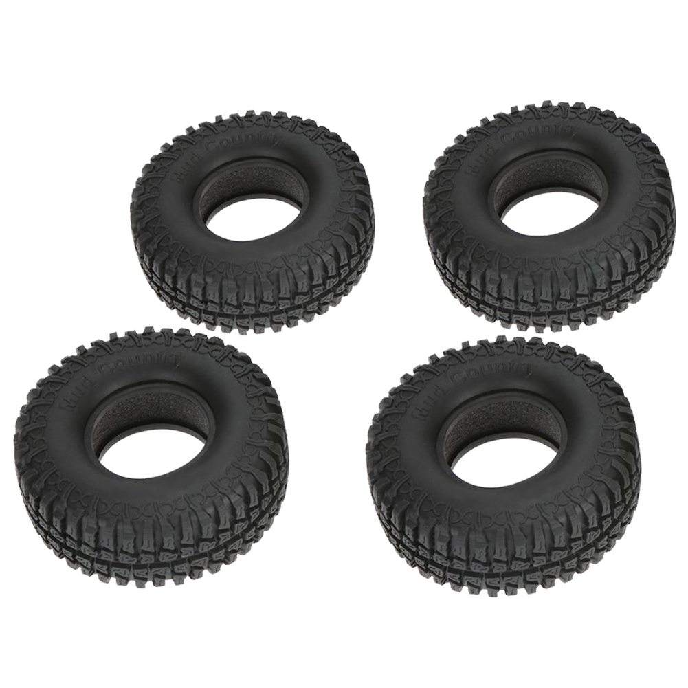ABWE 4Pcs 1 9 100mm Tires For 1 10 RC4WD D90 Rock Crawler