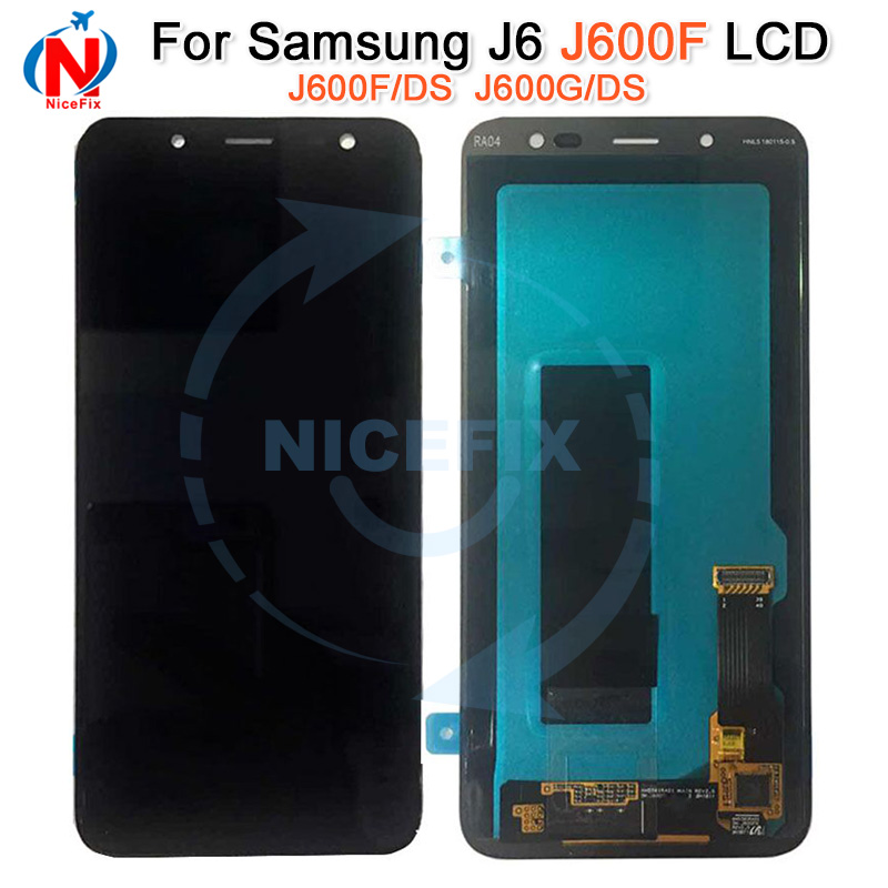 LCD for SAMSUNG Galaxy J6 Display J600F J600F DS J600G DS Touch Screen Digitizer Assembly replacement