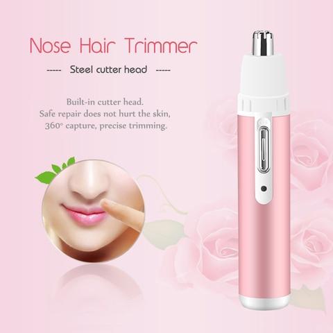 Kemei 4 In 1 Epilator Female Eyebrow Trimmer Women Shaver for Face Hair Removal Epilator Depilador Bikini Depilatory 45D Multan