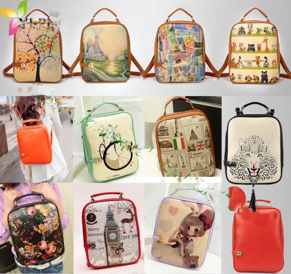 Aliexpress.com : Buy Hot! Women's Mochila Fashiom Printing ...
