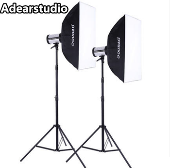 280W Flash Light Photo Studio Kit and Wireless Trigger Set for Professional & Home Studio Photography NO00DC
