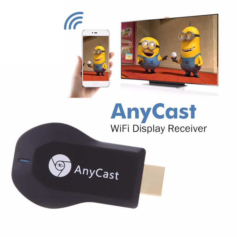 Anycast M2 plus EZcast 2.4g WiFi HDMI Dongle DLNA Miracast AirPlay chromecast 2 AM8258B sans fil tv dongle feu wi fi bâton