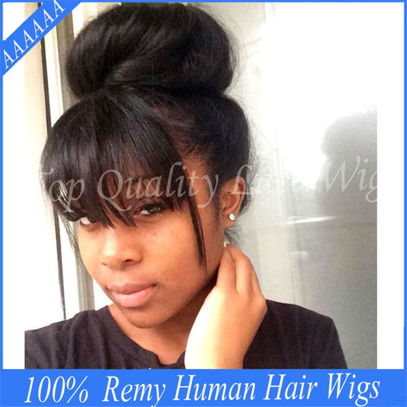 Amazing Aliexpress Com Buy 130 150Density Lace Front Ponytail Wigs For Hairstyle Inspiration Daily Dogsangcom