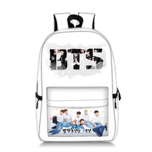 BTS Bangtan Backpack Teenage Kpop Korea Print Boys Girls School Laptop Bags Travel Unisex Fashion Rucksack Mochila BP0261