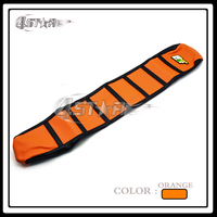 Orange Rubber Motorcycle Soft Grip Gripper Soft Seat Cover For KTM SX EXC 65 85 125
