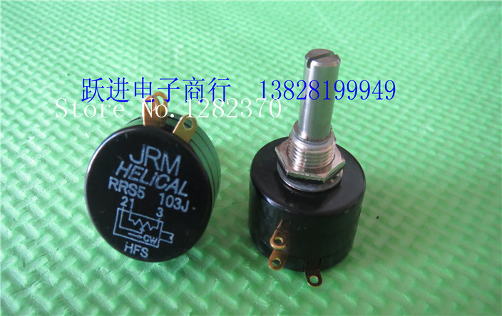 [BELLA] Japans imports of JRM RRS5 multi-turn wirewound potentiometers 100 Europe 200 Europe 500 Europe 1K 10K cash[BELLA] Japans imports of JRM RRS5 multi-turn wirewound potentiometers 100 Europe 200 Europe 500 Europe 1K 10K cash