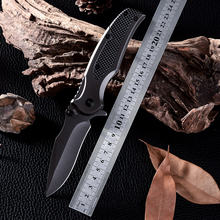 New High Quality Outdoor Survival Hunting Knife Carbon Fiber handle Cold Steel Camping Folding Blade Tactical Knives Zakmes