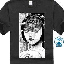 760cbad56a2 Summer Style Fashion Men Casual Tees Uzumaki Shirt Junji Ito Horror Manga  Custom Design Shirts Male