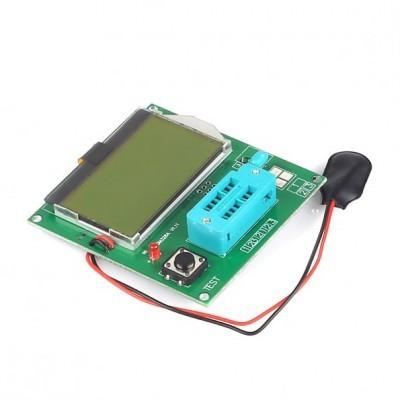 NOVA LCD 12864 módulo Medidor de LCR Mega328 Transistor Tester Diode Triode Capacitância ESR