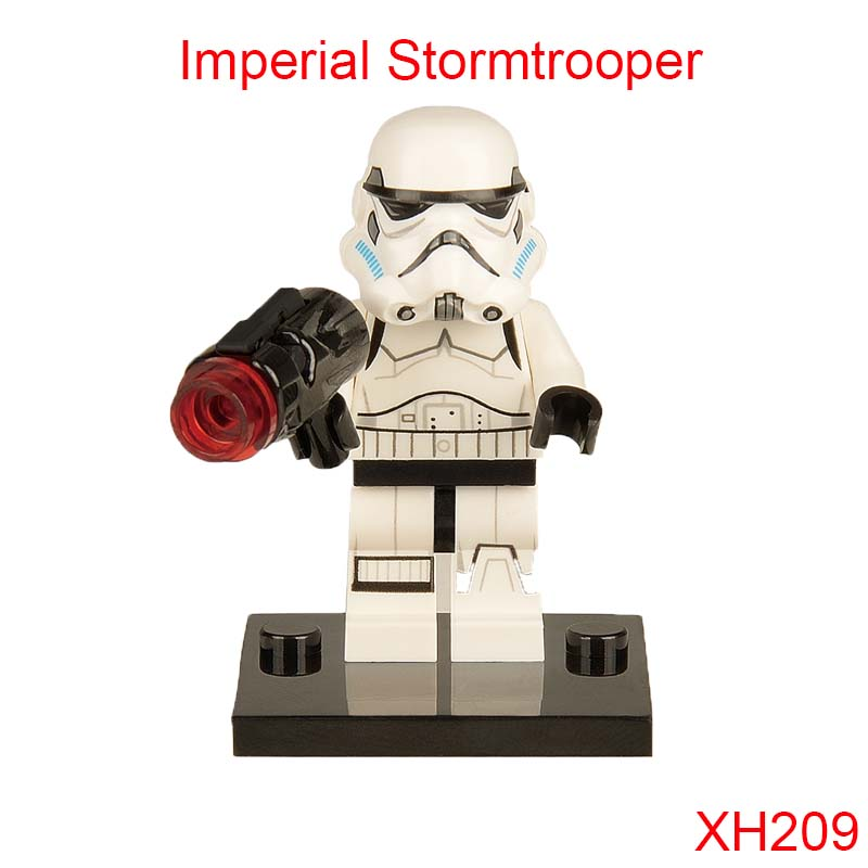 Imperial Stormtrooper Figures Single Sale Star Wars Jedi Knight Dark Lord Of Sith Building Toys Blocks Gift For Children