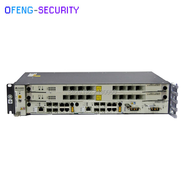 huawei olt gpon MA5608T GPON or PON OLT equipment for Fiber Optic Terminal Equipment, Gigabit, 2pcs MPWC, 2pcs MCUD Board