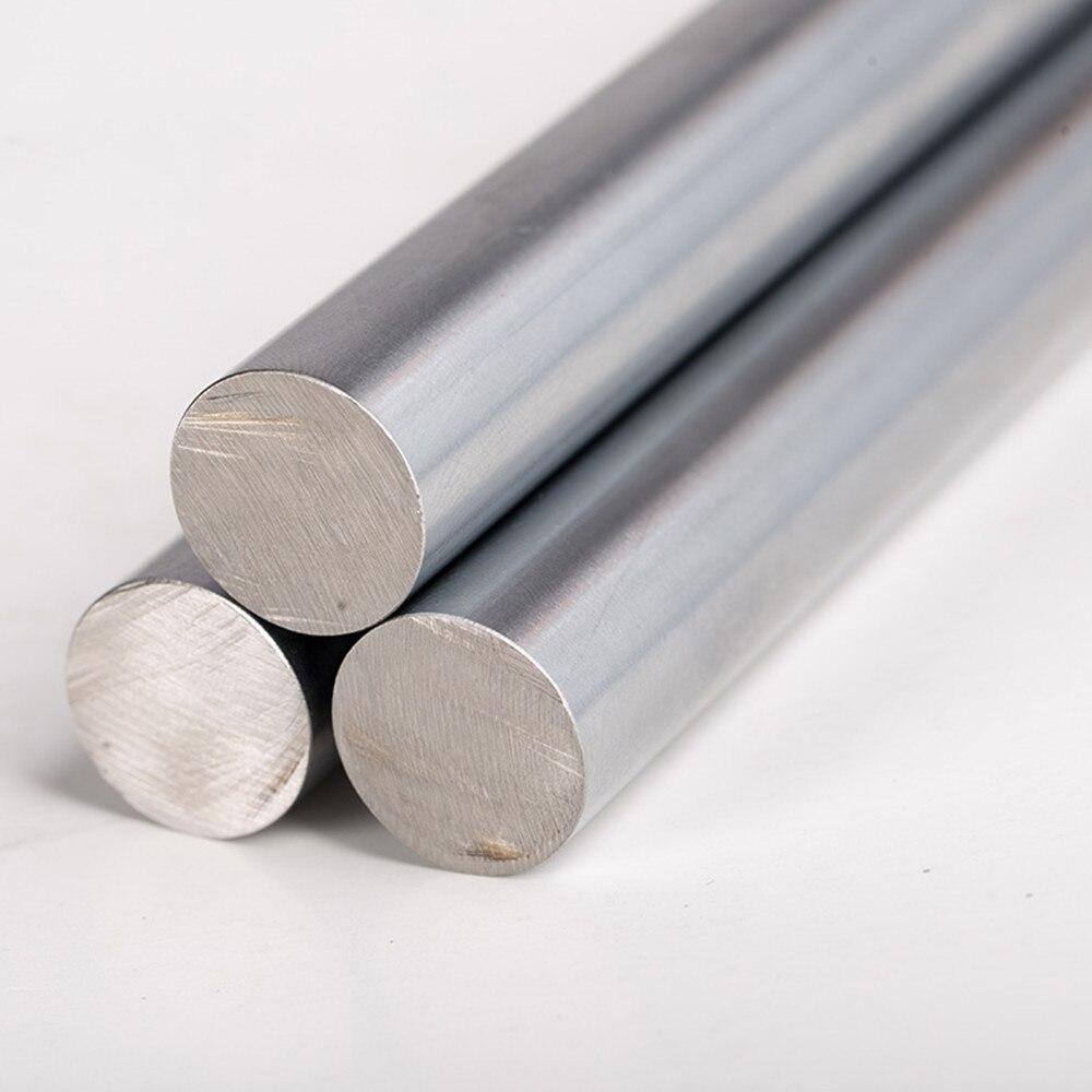 Tiges de chrome Dia 2/3/5/6/8/10/12/15/20mm industrie expérience recherche et développement Cr barre bâton 1 pièces 100mm longueur barre
