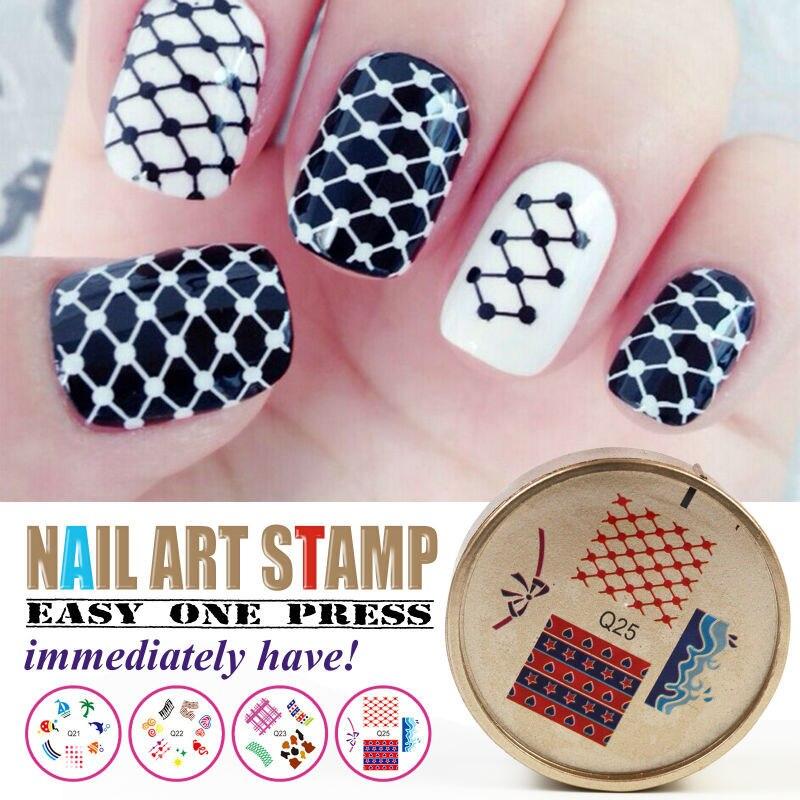 Nail Art Stamping Plates Diy Nail Designs Stamps 1pcs Image Plates