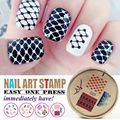 Nail Art Stamping Plates DIY Nail Designs Stamps 1pcs Image Plates Nail Art Decoration Tool Hot Sale