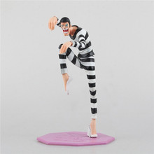 1PC 24cm Cool Anime ONE PIECE Figuarts SPECIAL MH POP MR.2 Von Clay Exquisite Action Figure Toy for Kids Birthday Gift