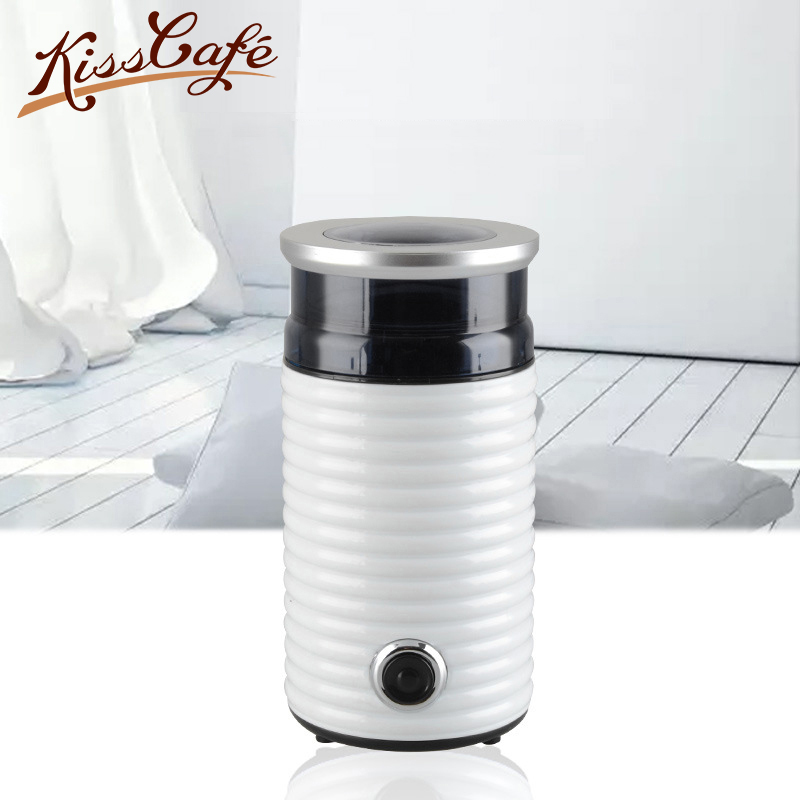 Electric Coffee Spice Grinder Maker with Stainless Steel Blades Beans Mill Herbs Nuts Moedor Cafe Safe Household Small Grinder|Coffeeware Sets|   - title=