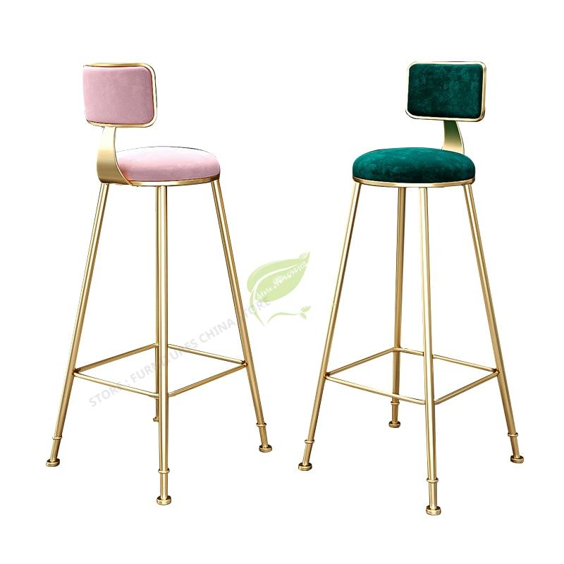 Stool Bar Tabouret De Bar Bar Stool Seat Bar Furniture Make Up Chair Beauty Salon Furniture Nordic Style Ins Simple Leisure
