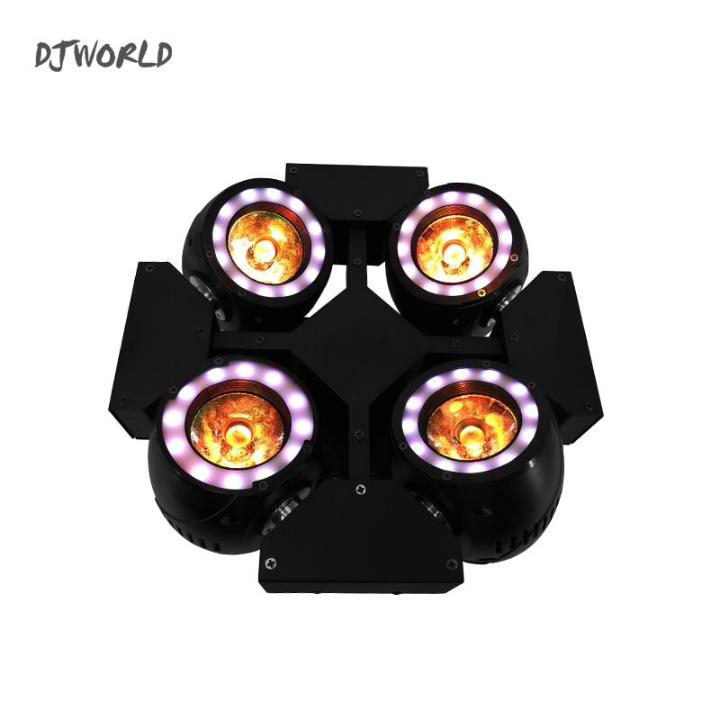 Mini LED Beam 4x40W Lighting Spot Beam Effect Stage Lamps RGBW & Mixed DMX For Professional KTV DJ Disco Bar Night