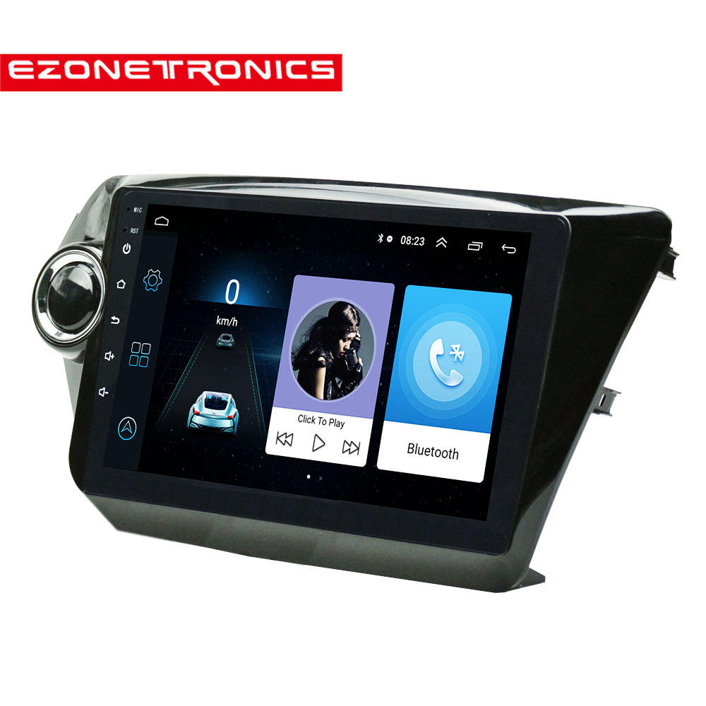 Double Din 9 Car Radio Multimedia Video Player Navigation GPS Android For KIA K2 RIO accessories sedan 2011 12 13 14 15 2016