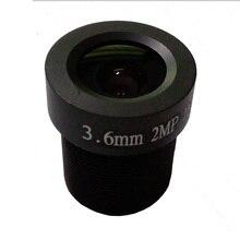 HD 3.6mm CCTV Lens HD 2.0 Megapixel IP Camera Lens M12 Mount Fixed for Secure video surveillance cameras