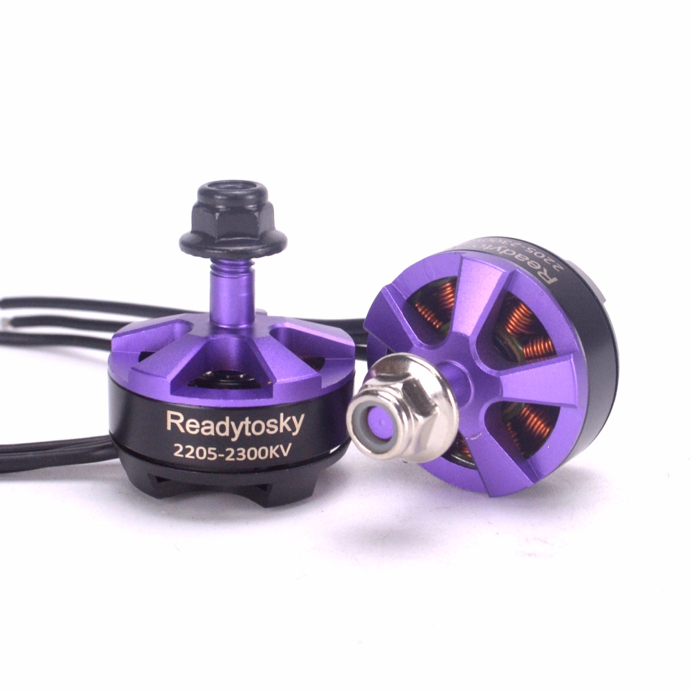 Readytosky 2205 2300KV Brushless Motor 3-4S CW CCW brushless motor for QAV-X 214 Martian II 220mm FPV Racing Drone Quadcopter lhi fpv 4x mt2206 2300kv cw ccw fpv brushless motor 2 4s 4 pcs racerstar rs20a lite 20a blheli s bb1 2 4s brushless esc
