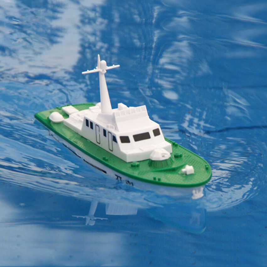 Free shipping  Mini Dragon Seal Electric Powered Missile Boat model Assembly model ship handmade DIY toy Warship children gift