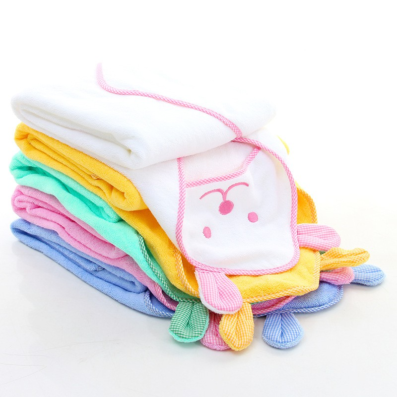 Baby Boys Girls Cloak Towels Newborn Cotton Bath Towel Infant Soft Cartoon Hooded Towel Newest