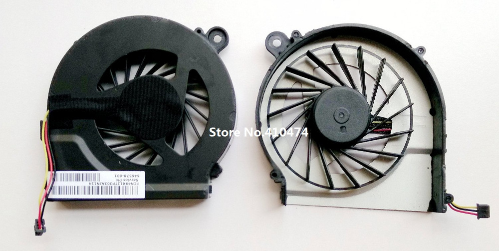 SSEA új laptop CPU hűtőventilátor ventilátor a HP Pavilion G7 G4 G6 G4T G6T G7T-hez 643364 - 001 a Compaq CQ42 G42 G62 G56-hoz 646578-001