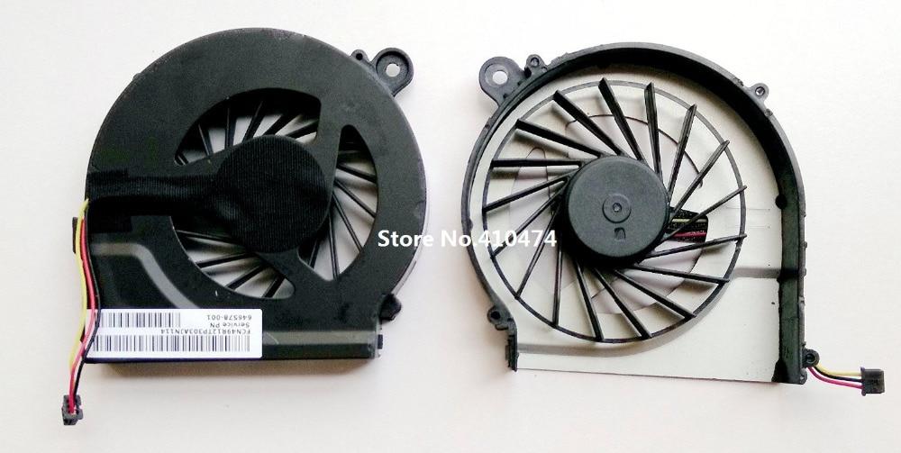 SSEA nový notebook ventilátor chlazení chlazení CPU pro HP Pavilion G7 G4 G6 G4T G6T G7T 643364 - 001 pro Compaq CQ42 G42 G62 G56 646578-001