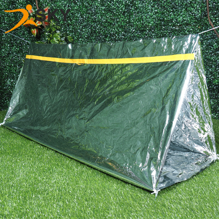 Color box installed aluminum foil earthquake outdoor emergency life emergency tent temporary shelter-in Safety u0026 Survival from Sports u0026 Entertainment on ... : tent aluminum foil - memphite.com