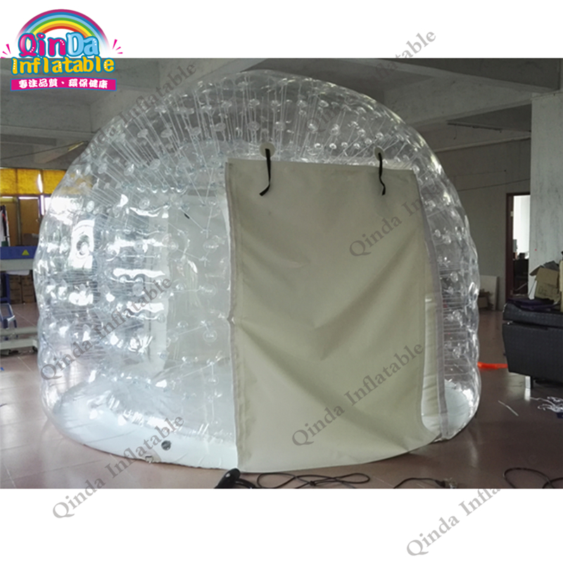 3-4 persons inflatable aie dome tent, inflatable lawn bubble tent for family camping цена 2017