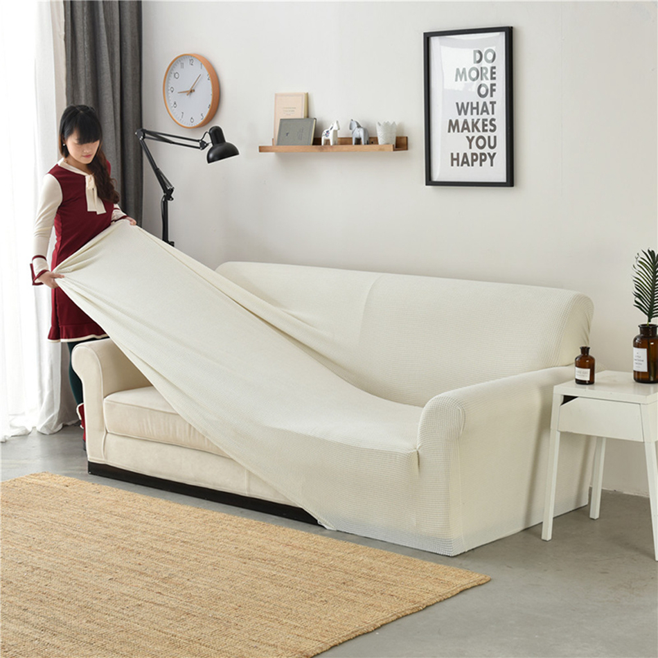 One Piece Furniture Protector Stretch Free Cushion Cover