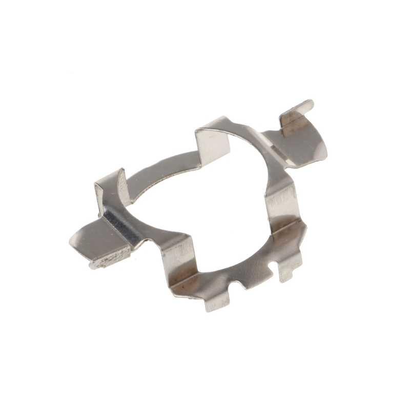 H7 HID Bohlam Logam Pemegang Adaptor Retainer Klip untuk BMW Audi Benz