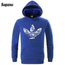 Men's Hoodie Sweatshirt Print Headwear Hoodie Hip Hop Street Costume US Size S-XXL us s
