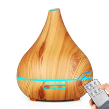 400ml Air Aroma Humidifier Essential Oil Diffuser Aromatherapy Night Light Ultrasonic Classic Mist Maker For Home fimei usb aroma diffuser led night light humidifier vehicle aromatherapy mist maker creative bottle shape air humidifier home