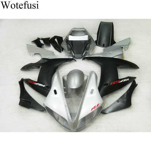 Wotefusi Hot New Black 2002 2003 Motorcycle Bodywork Fairing Set Injection Mold For YAMAHA YZF1000 R1 02-03 (15) [CK807] wotefusi black motorcycle injection mold bodywork motorcycle fairing for 2004 2005 2006 yamaha yzf1000 r1 04 05 06 3 [ck813]