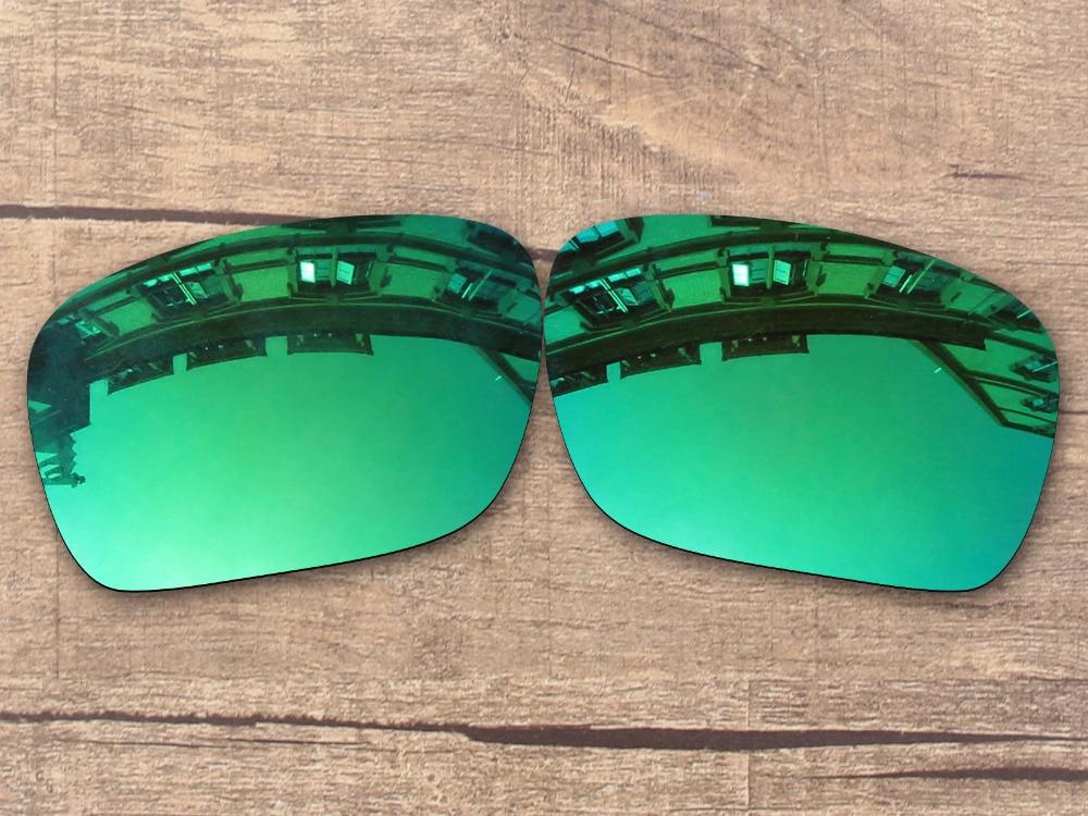 Émeraude Vert Miroir Polarisé verres de Remplacement pour Authentique  Holbrook lunettes de Soleil Cadre 100% UVA et UVB Protection e80b04fd660d