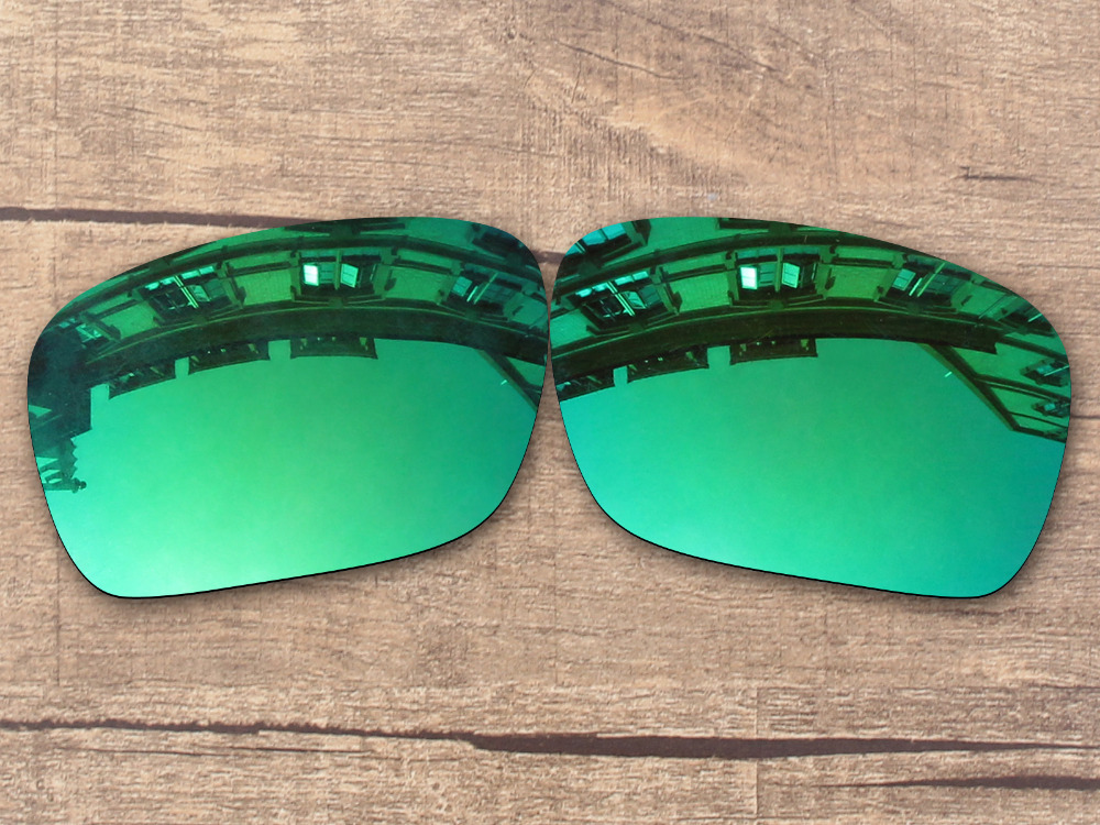 df52532f134 Emerald Green Mirror Polarized Replacement Lenses for Authentic Holbrook  Sunglasses Frame 100% UVA   UVB