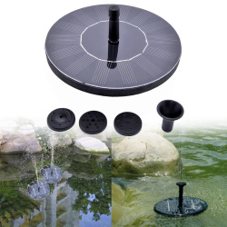 Solar Fountain Floating Water Pump Solar Panel Kit Garden Plants Watering Fountain Pool Pond Watering Submersible