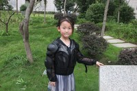 Kid Child Racing Motorcycle JACKET Clothes Body Protection Armor Jacket Full Body Armour ATV Protective For