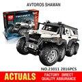 Nueva LEPIN 23011 2816 Unids Serie Técnica de vehículos Off-road Modelo Kits de Construcción Para la Educación Ladrillos Bloques Juguetes Compatibles 5360