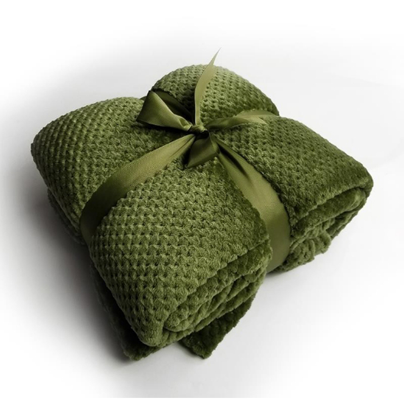 Pineapple Plaid Coral Fleece Throw Blanket Quality Home Textile Plaid Bedsheet Warm Soft Bedsheet Bedding Sofa Towel Four Season
