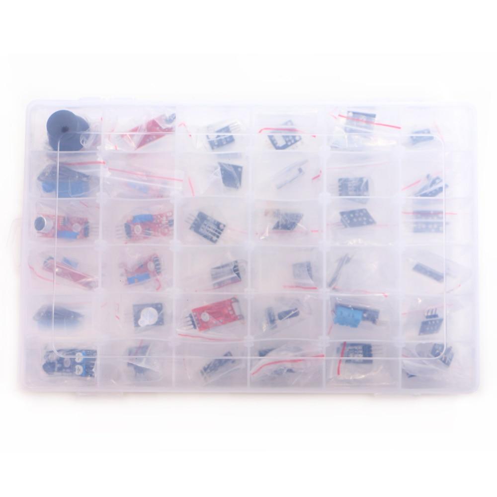 Kit De Sensor De Caja 37 En 1 Para UNO Starters Marca En Stock Buena Calidad Precio Bajo